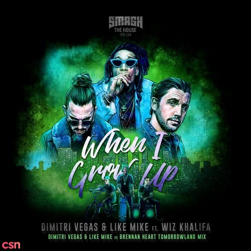 When I Grow Up (Dimitri Vegas & Like Mike Vs Brennan Heart Tomorrowland Mix)