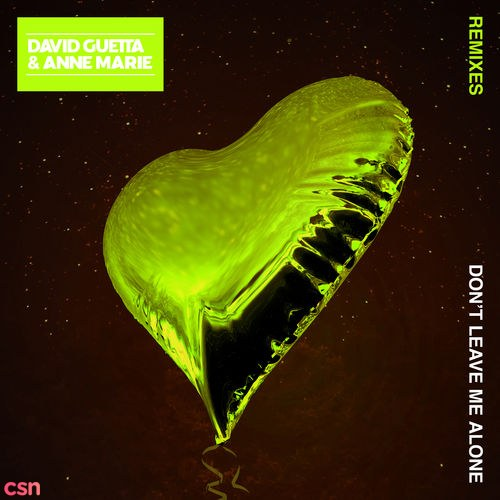 Don't Leave Me Alone (R3hab Remix) (Radio Edit)