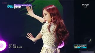 Don't Know What To Do (Music Core Comeback Stage Live)
